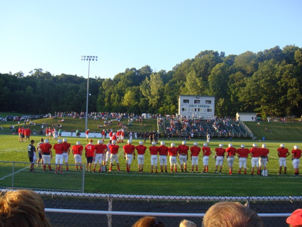 football-scrimmage!