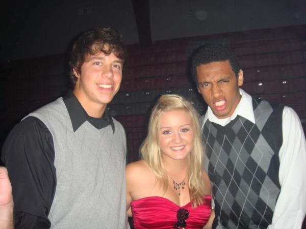 Matt, me and Andre!